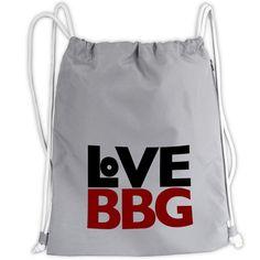 LoVE BBG, Rucksack-Beutel PES mit Zugband - Dein Lieblingsstück