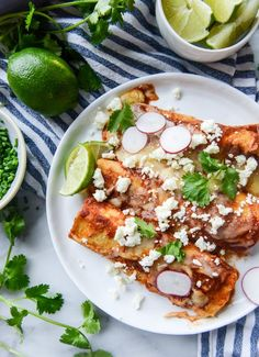 the best cheese enchiladas with homemade sauce I howsweeteats.com