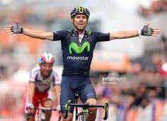 Alejandro Valverde of Spain and Movistar Team celebrates his victory... ニュース写真 | Getty Images #rm_112