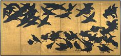 Crows c. 1625–50 / Anonymous Japanese Artist SEATTLE ASIAN ART MUSEUM