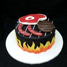 BBQ Grill Cake by Craftsy member calfon8372167263