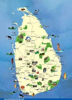 Sri Lanka Interactive Map India Trip Pinterest Sri Lanka - Where is sri lanka located