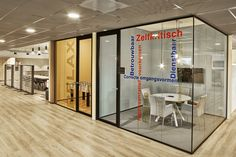 New Purpose has designed the offices of business communications company Zetacom, located in Zoetermeer, Netherlands. Zetacom, a system integrator for the Corporate Office Design, Workplace Design, Visual Merchandising, Oval Table, Branding, Office Workspace, Design Furniture, Office Interiors, Stores