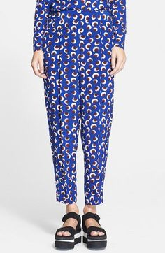 Stella+McCartney+Floral+Print+Silk+Pants+available+at+#Nordstrom