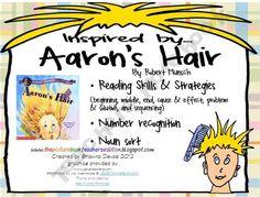 Aaron's Hair by Robert Munsch Activities