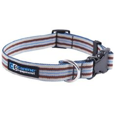 Canine Equipment Ultimate 3/4-Inch Utility Dog Clip Collar, Small, Brown Stripes ** You can get more details by clicking on the image.