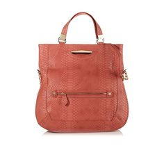 """Danielle Nicole """"Peyton"""" Embossed North/South Tote"""