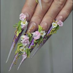 Lish Nails, Australia Deco, Nails, Floral, Flowers, Jewelry, Australia, Ongles, Music, Finger Nails