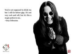 Never mind the drugs, tea is what fueled Ozzy!