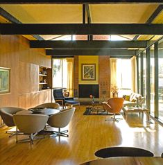 Edward Fickett, 1966, George & Marion Jacobson house