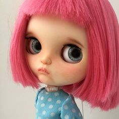 Excited to share the latest addition to my #etsy shop: Custom Blythe doll OOAK. FREE SHIPPING. Azone type flection body with tilting neck. #toys #pink #birthday #thanksgiving #ooakcustomblythe #ooakblythecustom #blythedollooak #blythedollcustom