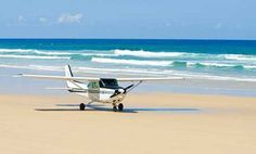 Fraser Island, Australia - rode on this!  Great views of the island.