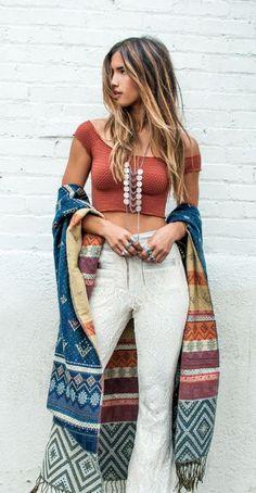 #summer #fashion / boho casual