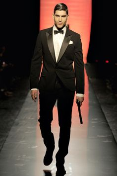 Jean Paul Gaultier Black Tie