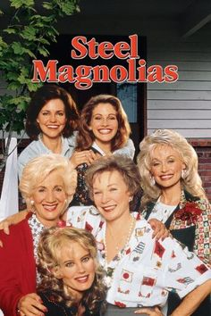 Steel Magnolias - all star cast including Olympia Dukakis, Shirley McClain, Dolly Parton, Sally Field, Julia Roberts and Daryl Hannah Streaming Movies, Hd Movies, Movies To Watch, Movies Online, Movies And Tv Shows, Movie Tv, Hd Streaming, 1990 Movies, Steel Magnolias