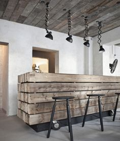 Restaurant Cofoco designed by Norm Architects of Denmark and design studio, Abel Cathrines Gade 7, 1654 Copenhagen, Denmark - 2012.