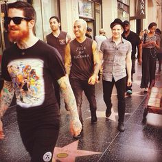 Love Patricks Shirt.. And Blond Pete.. And Andys Beard. Not sure about Joes hair.. Miss the Fro a bit.