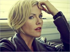 "Kathleen Robertson looks so hot for her age! Gorgeous style, great hair and loving her fashion on ""Murder in the First"""