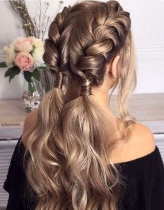Trendy Hair Highlights : Balayage application & finished +Tips; Trendy hairstyles and colors Women hair colors; women How to Dutch Braid Your Own Hair - Chicbetter Inspiration for Modern Women Cute Braided Hairstyles, Box Braids Hairstyles, Trendy Hairstyles, Wedding Hairstyles, Updo Hairstyle, Creative Hairstyles, Beautiful Hairstyles, Fashion Hairstyles, Hairstyles Pictures
