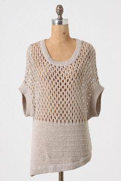 Anthro Sweater - Knitting Machine?