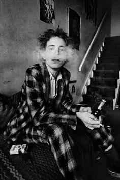 John Lydon, London, 1979 © Anton Corbijn. TENMAG Web September 2016.