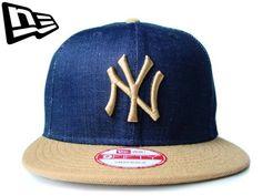 """【ニューエラ】【NEW ERA】9FIFTY INDIGOシリーズ """"NEW YORK YANKEES"""" NYロゴ インディゴXウィート 【CAP】【newera】【帽子】【ニューヨーク・ヤンキース】【スナップバック】【デニム】【トースト】【タン】【denim】【MLB】【NY】【キャップ】【あす楽】【楽天市場】"""