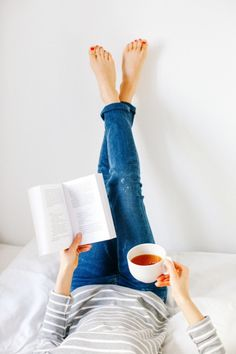 Tea + Books = Me Time #tea #books #teatime