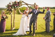 """Summer Virginia Winery Wedding - Helena & Stephen"" 