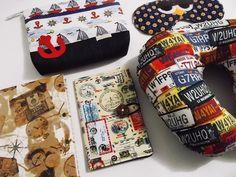 Kit para viagem contendo: diário de viagem, almofada para pescoço, necessaire, máscara para dormir e porta passaporte e documentos. <br> <br>Ótimo para viajar ou presentear. As estampas podem ser escolhidas de acordo com nosso mostruário, o link está no rodapé da descrição do produto.