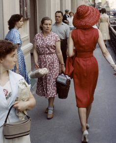 Dior models in Moscow (1959). Photo © Getty Images / Fotobank.ru