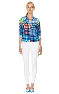 Signature Button Down by Equipment Now Available on Moda Operandi