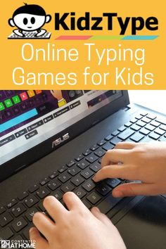 Help your child learn important keyboarding skills with these online typing games for kids. KidzType offers free typing games that kids will love–and they will learn touch typing while they play! - Kids education and learning acts Typing Programs For Kids, Online Typing, Learning Games For Kids, Typing Practice For Kids, Learning Shapes, Typing Games, Typing Skills, Programming For Kids, Online Programs
