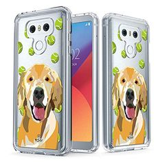 LG G6 Case  True Color Clear-Shield Labrador Retriever Dog My Lovely Pet Collection Printed on Clear Back  Soft and Hard Thin Shock Absorbing Dustproof Full Protection Bumper Cover