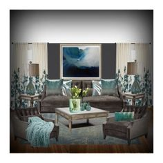 """""""le séjour"""" by jcross-1 ❤ liked on Polyvore featuring interior, interiors, interior design, home, home decor, interior decorating, Threshold, Iconic Pineapple, HARRISON and LSA International"""