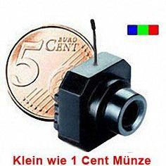 Micro Farb-TV-Sender für drahlose Videoüberwachung.