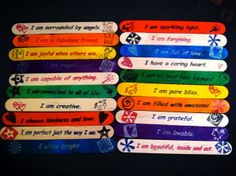 'popsicle stick' Affirmation Stations