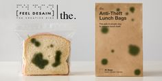 Anti-Theft Lunch Bags - You just have to convince yourself that it is okay to eat the sandwich.