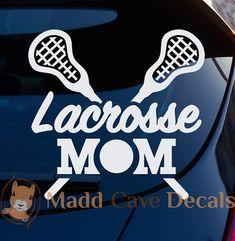 Eat Sleep Women/'s Lacrosse Vinyl Decal Sticker Car Truck Window