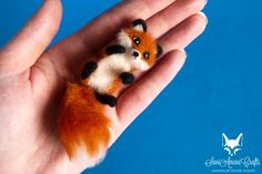 Tiny red fox 2 by SaniAmaniCrafts