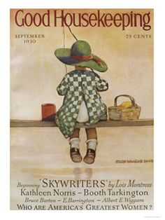 Retro Magazine Covers - 1930s Vintage Cover Art - Good Housekeeping