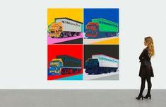 На торгах Christie's появится серия работ Энди Уорхола. Серия шелкографий Энди Уорхола «Грузовики» станет топ-лотом онлайн-торгов тиражного искусства Christie's, которые проходятс 16 по 28 сентября 2021 года.