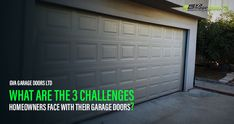 When your garage door malfunction, it surely can put your vehicle & safety at risk. It'd be wise to sort out any problem you have in your overhead door by the experts and restore its functionality immediately. Let's discuss the 3 most common issues are faced by garage doors in most homes: Garage Door Rollers, Garage Door Panels, Garage Door Company, Best Garage Doors, Panel Doors, Garage Door Opener Repair, 3 Things, Restore, Vehicle