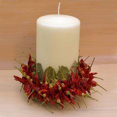Dried Chilli Candle -  £29.60  visit  www.thepinkmonkeycompany.co.uk