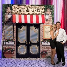 Cafe Paris Party Prop Decoration