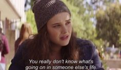 Hannah Baker's quote