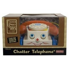 The Fisher Price Classic Chatter Phone is the best selling Fisher Price preschool toy of all time. With its moving eyes and silly sounds this classic toy has never gone out of style. Loved worldwide by parents, children and collectors alike. Fisher Price Toys, Moving Eyes, Preschool Toys, Retro Toys, Childhood Toys, Time Capsule, Classic Toys, Out Of Style, Gifts