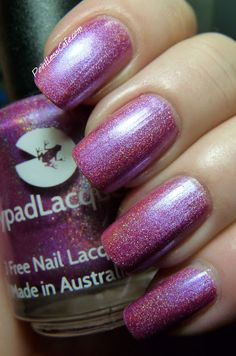 Lilypad Lacquer Blooming Violets - I cannot wait until this comes to Llarowe!
