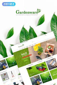 WooCommerce шаблон №67559 на тему садовый дизайн New Screenshots BIG