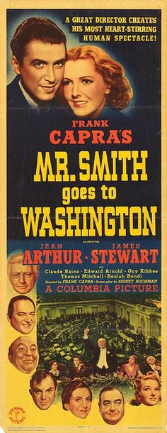 [ MR. SMITH GOES TO WASHINGTON POSTER ]