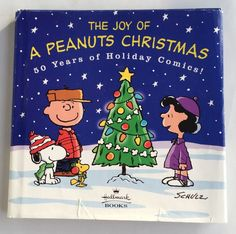 The Joy of a Peanuts Christmas Holiday Comics Charles Schulz Hardcover Book